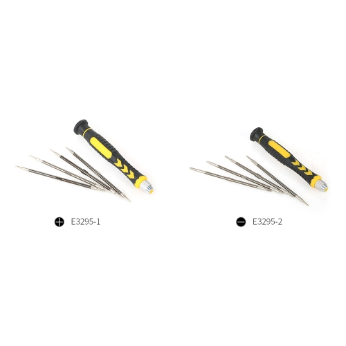 5 in 1 Multi-functional Screwdrivers Set with Magnetic Phillips and Torx Bits Electrical Work Repair Tools Kit
