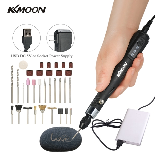 KKmoon 30W Mini Electric Grinder Drill Tool