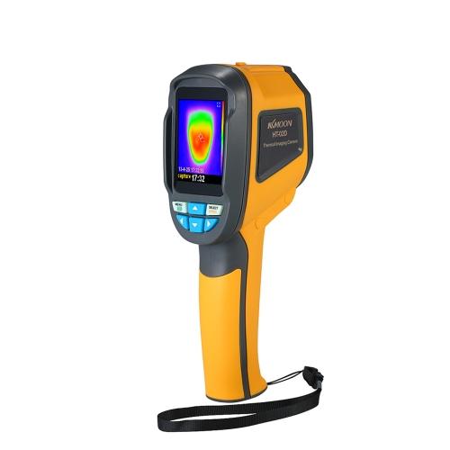 Termômetro Infravermelho Handheld KKmoon Termômetro -20 ° C a 300 ° C e Resolução IR 1024 Pixels Câmera de Imagem TFT Colorida de 2,4