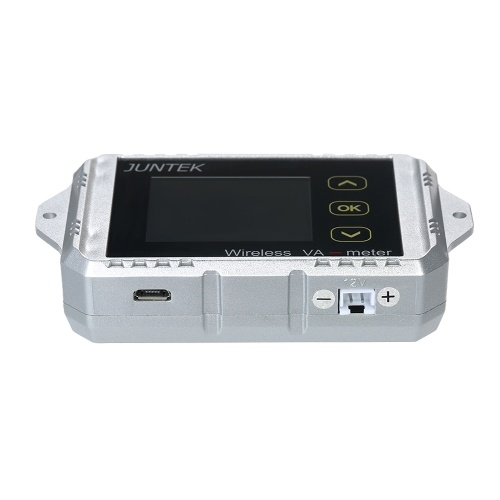 JUNTEK DC 0.01-100V 0.1-300A Multifunctional Wireless Digital Bi-directional Voltage Current Power Meter Ammeter Voltmeter Capacity Coulomb Counter