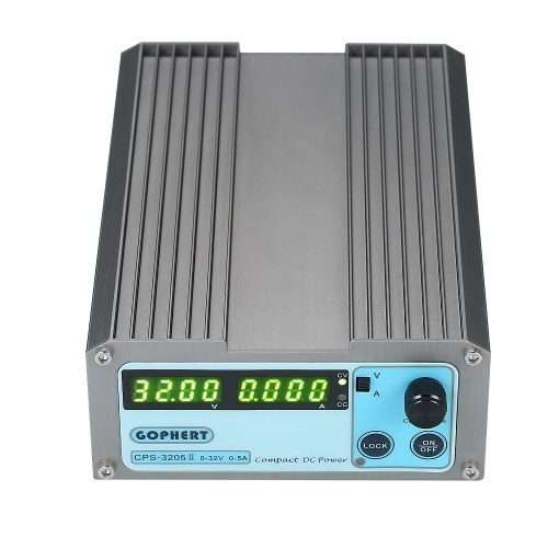 Alimentatore regolato switching portatile 4 cifre LED CPS-3205 II 160W 0-32V / 0-5A Precisione Compatto digitale regolabile Alimentazione DC