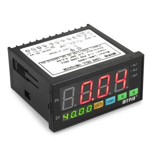 Indicatore delle celle di carico del display digitale a LED Indicatore delle celle di carico 1-4 Celle di carico Segnali Ingresso 2 Uscita allarme relè