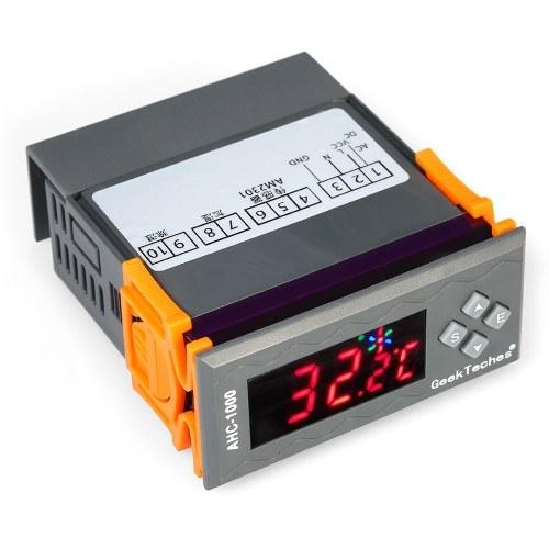 10A 12V Mini LED digitale regolatore di umidità dell'aria con sensore 1% ~ 99,9% RH Campo di misura