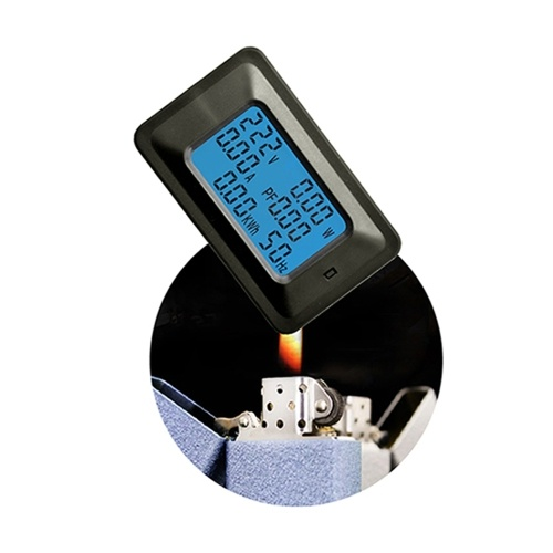 20A Цифровой измеритель напряжения Энергометр LCD 5KW Коэффициент мощности Измерители частоты энергии Вольтметр Амперметр Амплитуда Точность Измерения Ультразвуковой индикатор Тестер Индикатор Индикатор фото