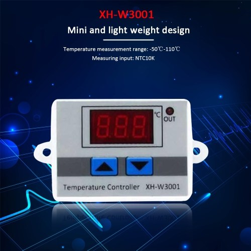 Digital Temperature Controller on