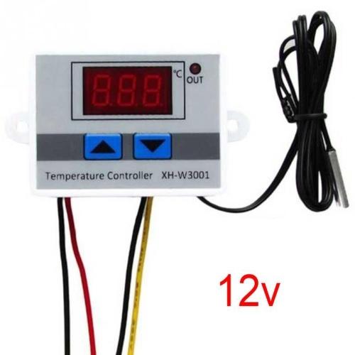 XH-W3001 Regolatore di temperatura con display LCD digitale Termostato microcomputer Termocoppia Termostato