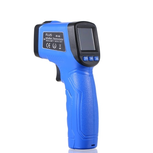 Mini termometro a infrarossi senza contatto Display LCD palmare digitale a infrarossi Termometro a infrarossi Temperatura Tester -58 ℉ ~ 716 ℉ (-50 ℃ ~ 380 ℃)