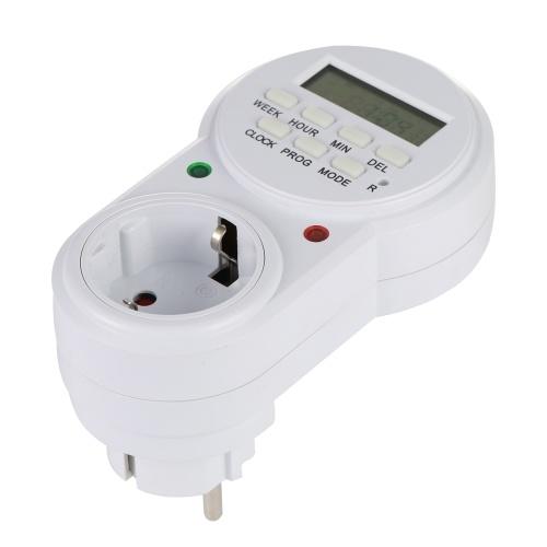 EU Plug Smart Power Socket Digital Timer Switch E4526EU-1