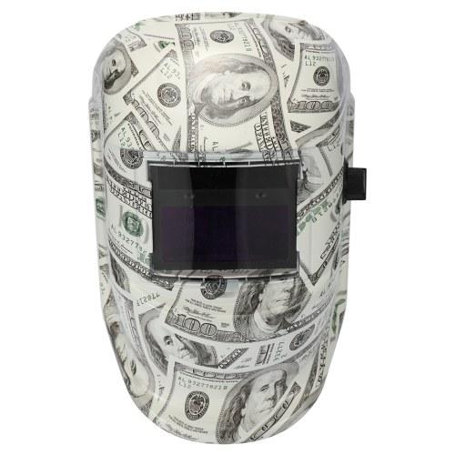 Teto de solda de escurecimento automático da soldadura da máscara da soldadura da energia solar com os sensores do arco 2pcs
