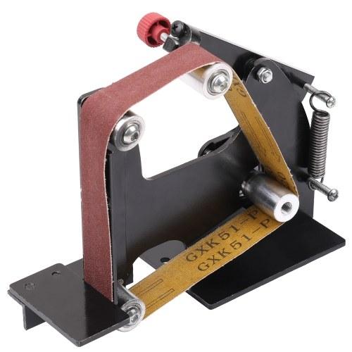 Accesorios de lijadora de banda de amoladora angular de hierro multifuncional de la máquina lijadora Máquina pulidora