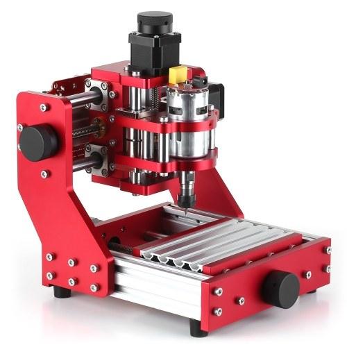 ミニCNCルーター1310CNC金属彫刻フライス盤キットPCB木彫りレーザー機械彫刻機ER11コレット付き