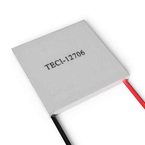 TEC1-12706 40 * 40mm 12 V 60 Watt Kühlkörper Thermoelektrischer Kühler Halbleiter Kühlung Kühlung Peltier Plate Module