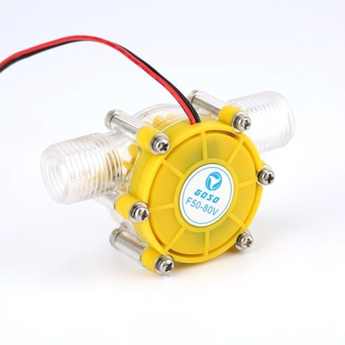 Mini Stabile Wasserpumpe Aufladegenerator Turbine Hydroelektrischer Mikro-Hydro-Hahn DIY
