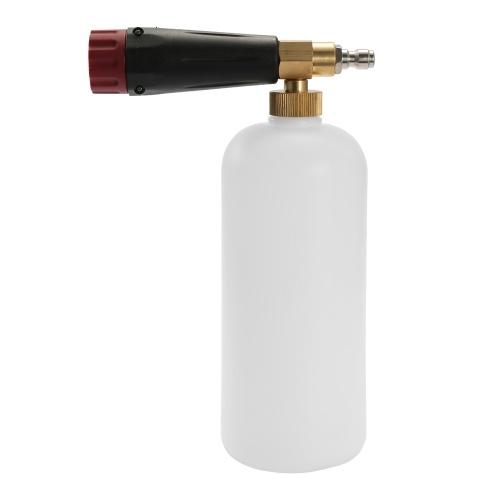 High Pressure Car Wash Snow Foam Lance Soap Foamer Machine Washer With Nozzle Sprayer