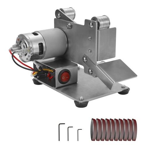 Multifunctional Grinder Mini Electric Belt Sander DIY Polishing Grinding Machine Cutter Edges Sharpener