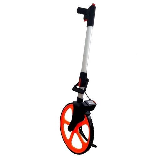 318mm Collapsible Mechanical Distance Measuring Wheel Handheld Wheel Range Finder Distance Measuring Tool Machine