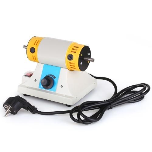 Mini TM Настольный токарный станок для полировки мотора Машина для полировки ювелирных изделий