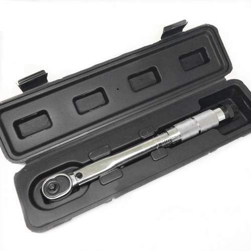 """1/4 """"DR 5-25Nm Регулируемый динамометрический ключ для фиксации велосипеда Точный ключ с трещоткой для ремонта Гаечный ключ Ручной инструмент"""