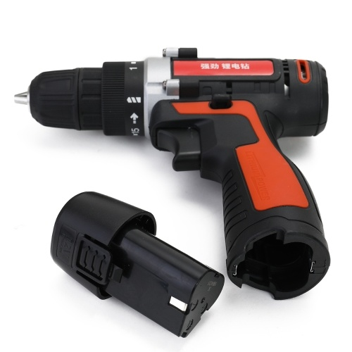Detachable Lithium Battery Power Drills Cordless Rechargeable Electric Home Mini Size Ergonomics Design