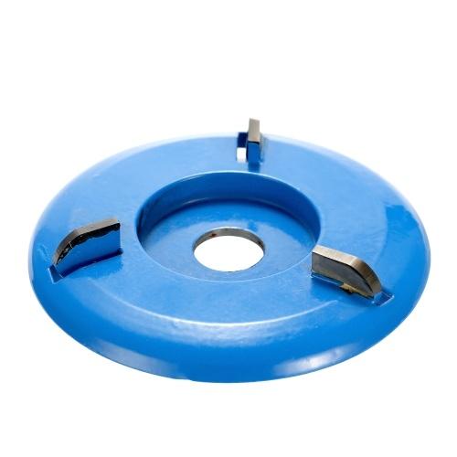 16 mmアパーチャアングルグラインダーのための3本の歯の力の木彫りのディスク用具の製粉のカッター