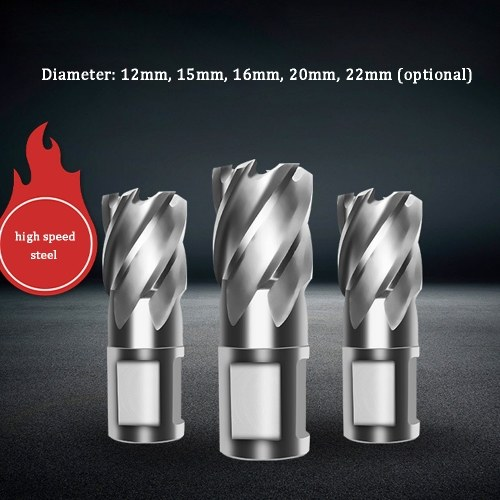 Hollow Drill Bit Magnetic Drill Bit Steel Plate Drill Bit with 30mm Thickest Steel Plate Depth