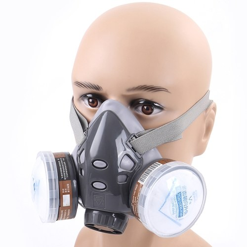 308 Series Staubmaske / Anti-Gift-Maske 5-in-1-Anzug-Gesichtsmaske