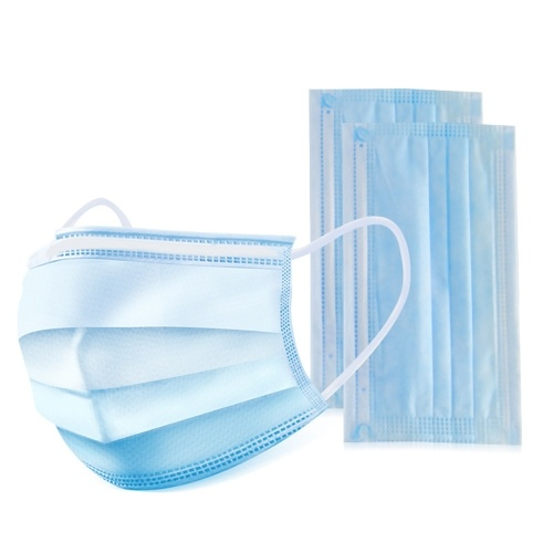 Disposable Face Mask Non-woven Fabric Nose and Mouth Protection Disposable Flat Mask Medical Surgical Dental Flu Protective Mask Personal Protective Equipment