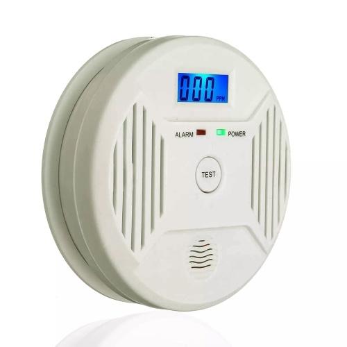Digital LCD CO Detector de humo