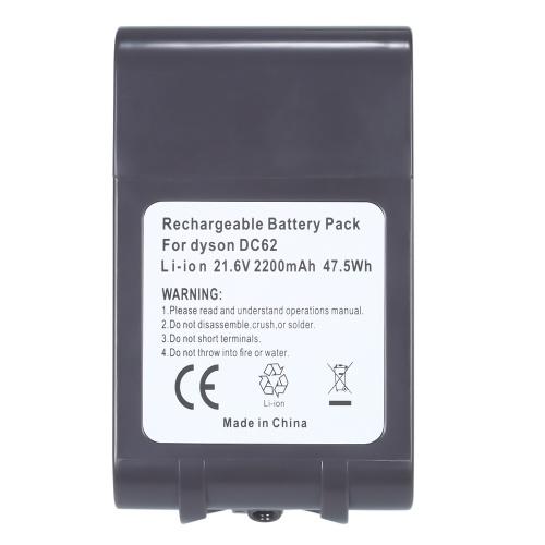 21.6V  2200mah/ 3000mah/ 4000mah(optional)  Li-ion Battery Replacement for Dyson Battery V6 DC58 DC61 DC62 DC72 DC74 Handheld Vacuum Cleaner