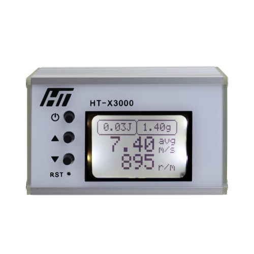 Handheld High Accuracy Speed Measuring Instrument Initial Speed Velocity Velocimetry Tachometer