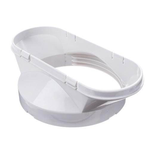 Interfaccia per ugello piatto bianco 130MM per climatizzazione mobile