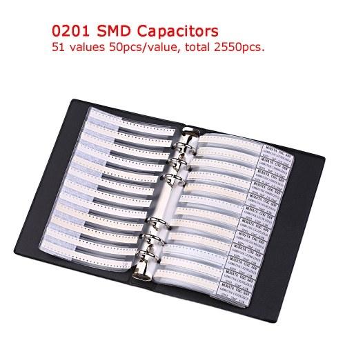 Образец книги 0201 0402 0603 0805 1206 Комплект резисторов SMD SMT Chip Resistor