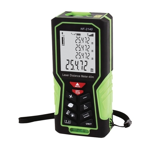 NF-2140 Ручной лазерный дальномер Цифровой инструмент для измерения расстояния Электронная линейка / 131ft 40m