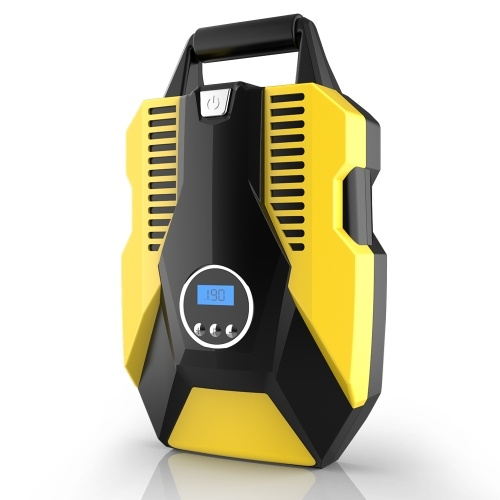 Pompa di gonfiaggio digitale del compressore d'aria elettrico