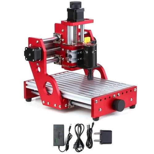 CNC 1419 Metal Engraving Cutting Machine Router Desktop DIY Milling Machine Aluminum Copper Wood PVC PCB Laser Machine