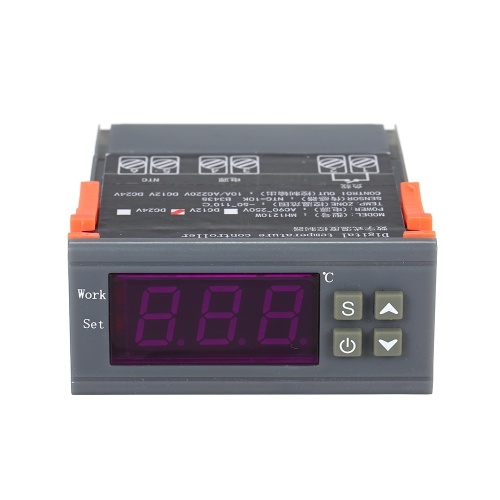 MH-1210W Intelligent Microcomputer Digital Temperature Controller High Accuracy Heating/Cooling Temperature Control Thermostat Regulator with Sensor фото