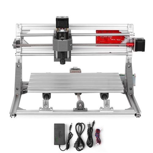 アップグレードバージョンCNC 3018 GRBLコントロールDIYミニCNCマシン作業領域300 * 180 * 40mm