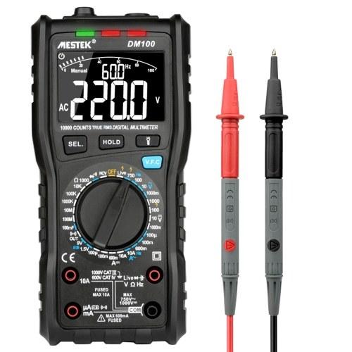 MESTEK 10000は真のRMS多機能デジタルマルチメーターをカウントします