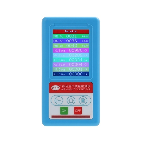BR-8A Multifunctional Professional Handheld PM2.5 PM10 PM1.0 Detector Meter Air Quality Analyzer