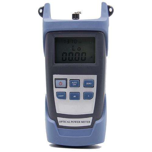 Grau 10 MW AUA-80A Handheld Optisches Leistungsmessgerät Rotlicht Faserlicht-Zerfallstester Maschinen-Glasfaserkabeltester Visuelle Fehlersuche