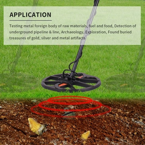 TIANXUN Professional Underground Metal Detector High Sensitivity Under Ground Gold Silver Detector Stud Finder Jewelry Digger Treasure Hunter Metal Search TX-960 with Switchable Backlight LCD Display