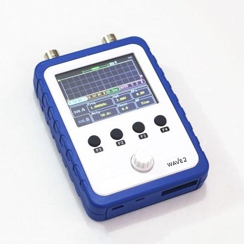 """Kit oscilloscopio digitale a doppio canale per touchscreen oscillante portatile WAVE2 da 2,4 """"fai da te"""
