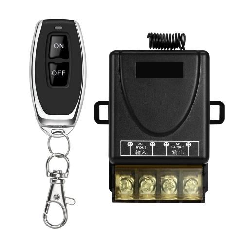Remote Control Switch DC 12V-85V Transmitter Receiver Set with LED Indicator Light