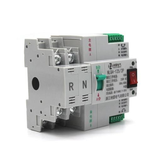 Портативный безопасный переключатель Impetus без затемнения 4P 100A 400V 50 / 60HZ Двойной импульсный источник автоматического переключения