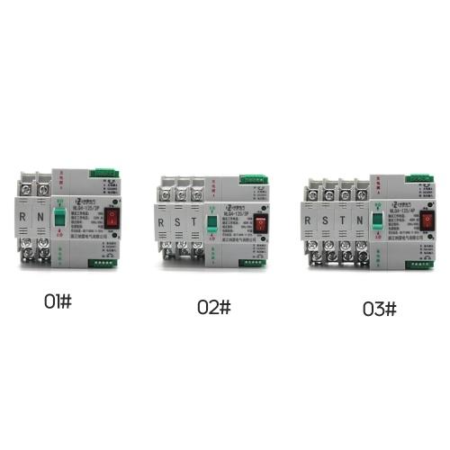 Портативный безопасный переключатель Impetus без затемнения 4P 100A 400V 50 / 60HZ Двойной импульсный источник автоматического переключения фото