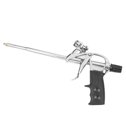 Pistola de espuma mejorada Pistola de espuma de alta resistencia Pistola de calafateo Pistola de espuma expansible Pistola de pulverización expansiva Dispensador de sellador Herramienta de aplicación de aislamiento de PU
