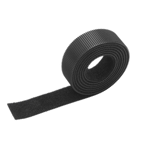 1-Roll Reusable Fastening Wire Organizer Multi-Purpose Cable Ties Cord Rope Cable Management Hook & Loop Nylon Fastening Tape Cable Straps
