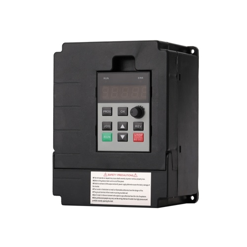 Variable Frequency Inverter Universal Mini Single Phase 220V Input 3-Phase 220V Output 0.75kW