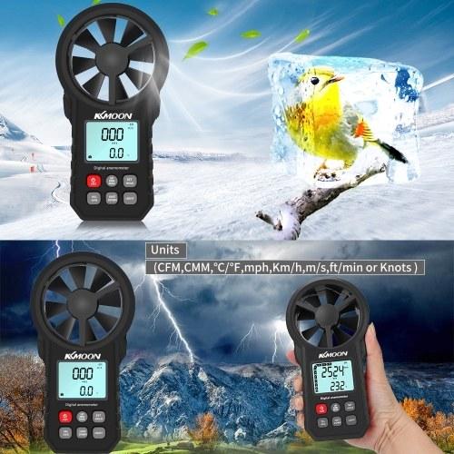 KKMOON Handheld Anemometer Portable Wind Speed Meter
