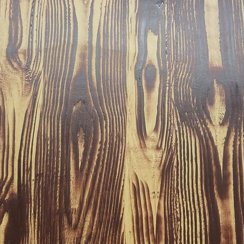 Rubber Wood Grain Pattern Tool Five Holes Yellow DIY Wall Painting Hand Tool